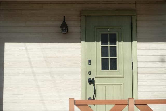 おしゃれ 玄関ドア