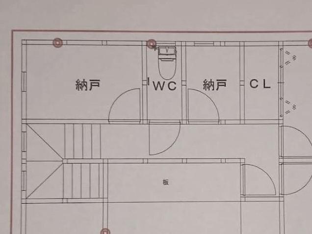 トイレ 2階 間取り