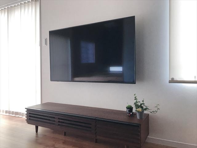 テレビ 壁掛け テレビ台