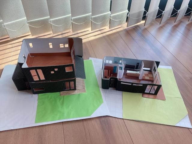 家 模型 紙