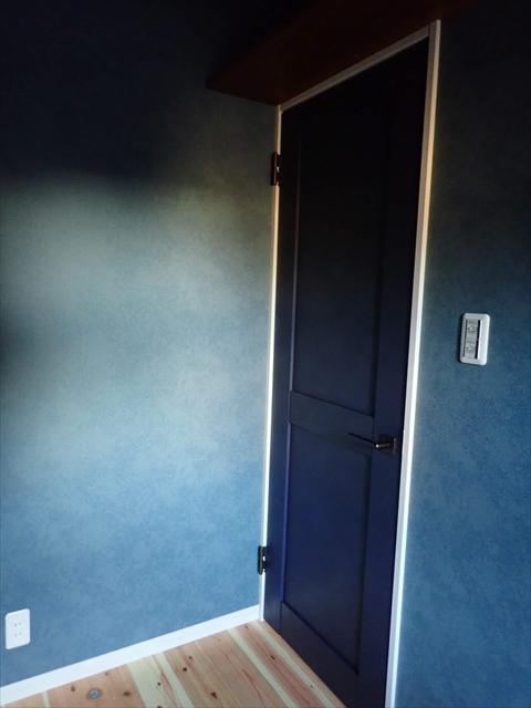 リクシル 室内ドア ネイビー